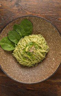 Spinach Yasai Ramen