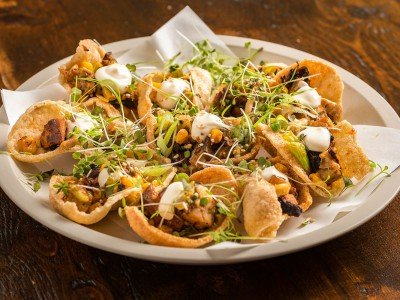 Prawn Cracker Nachos